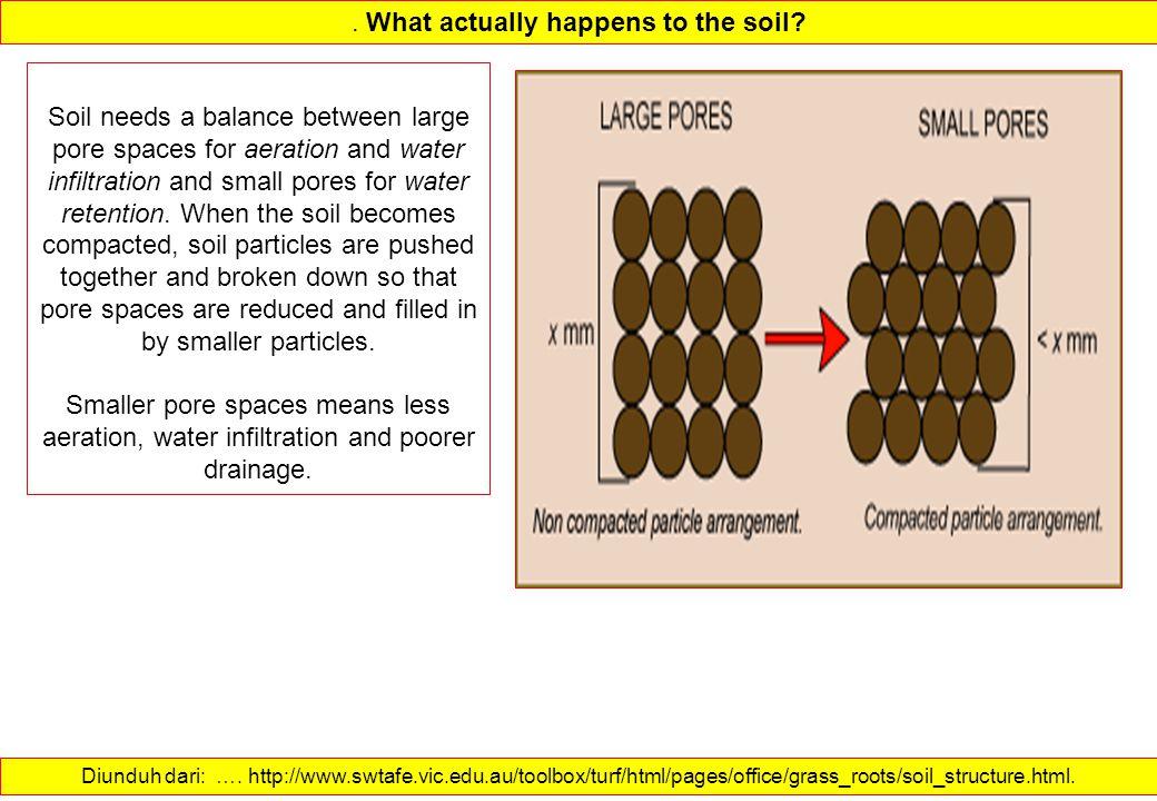 What actually happens to the soil.Diunduh dari: ….