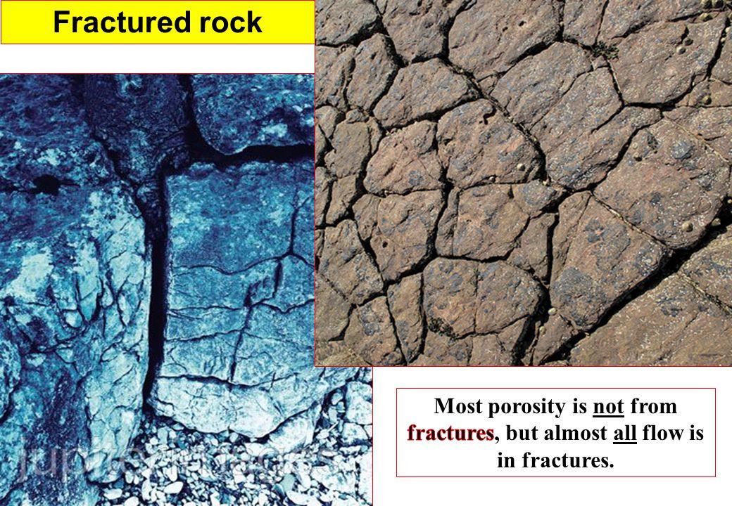 Fractured rock