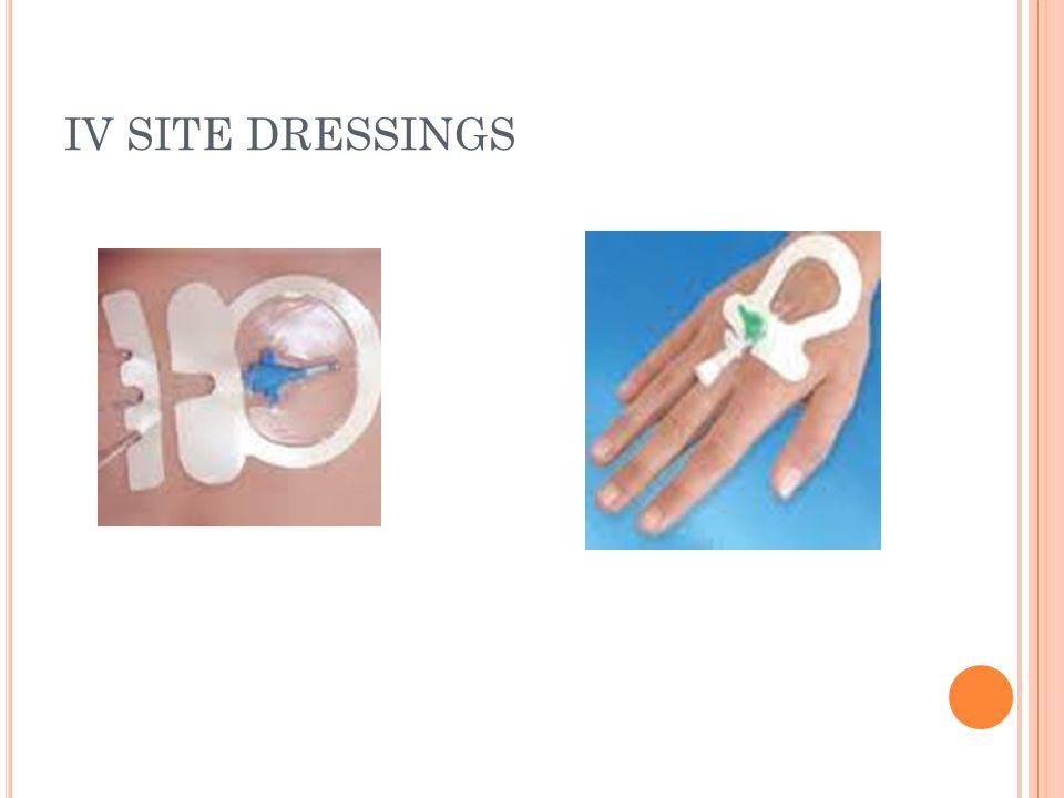 IV SITE DRESSINGS