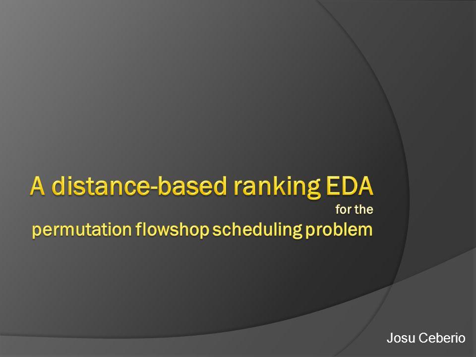 Standart evolutionary shape Restart mechanism shape Generalized Mallows EDA Preliminary experiments Restart mechanism Improvement !