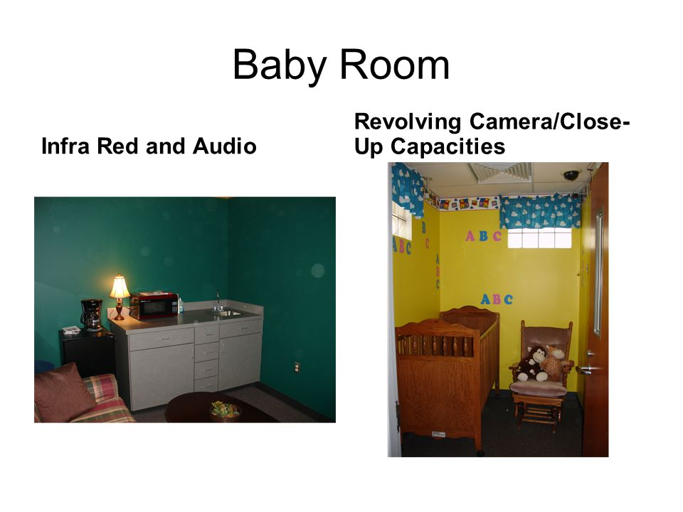 Baby Room Infra Red and Audio Revolving Camera/Close- Up Capacities
