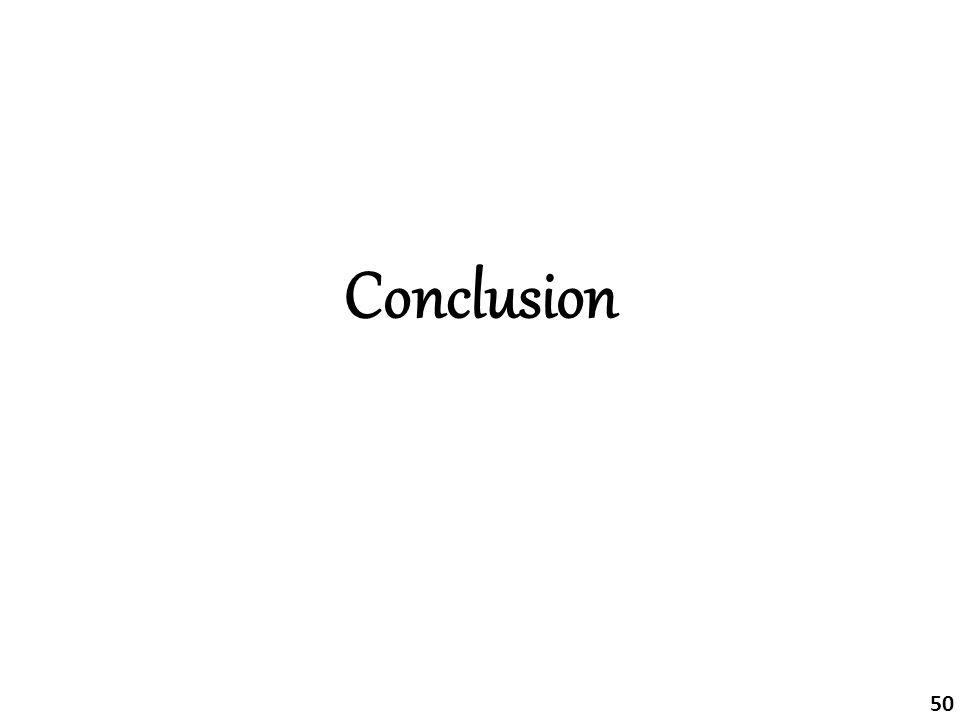 Conclusion 50