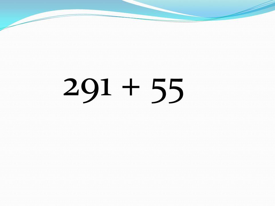 291 + 55