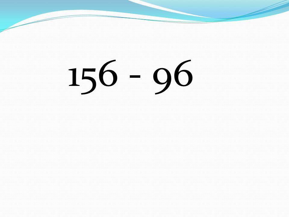 156 - 96