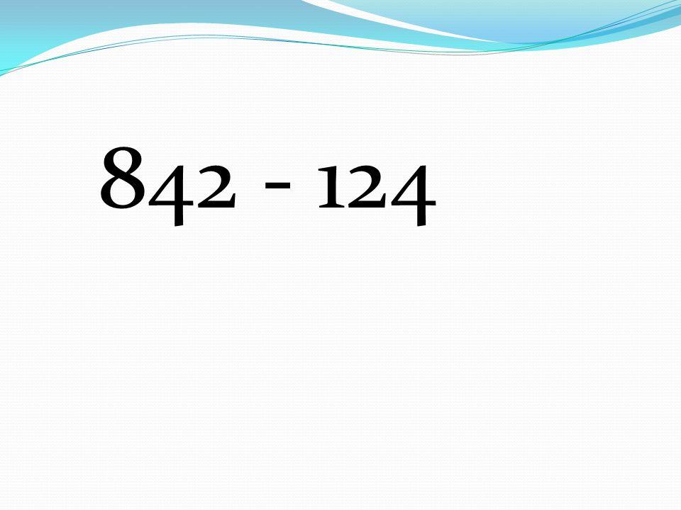 842 - 124