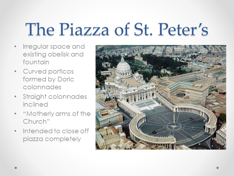 The Piazza of St.