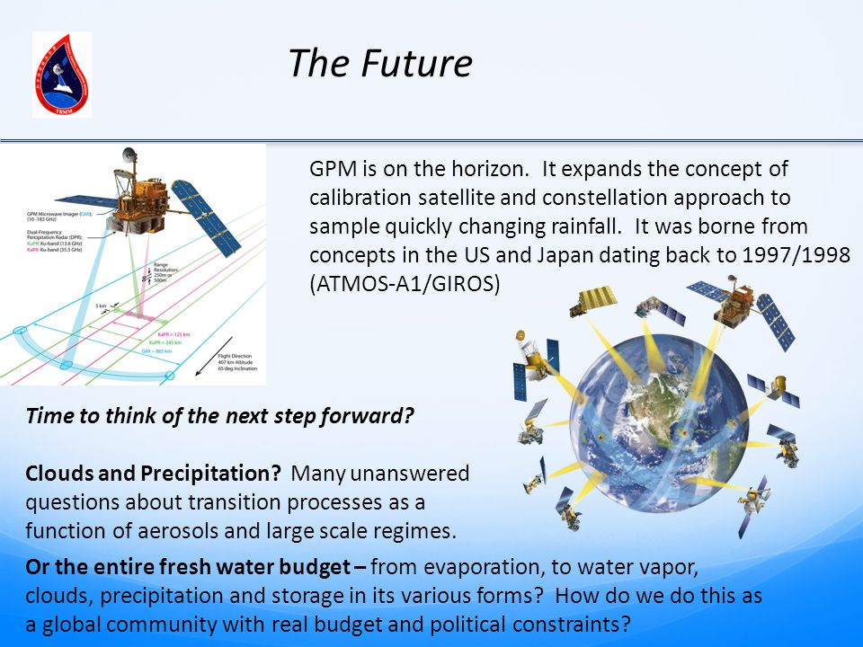 GPM is on the horizon.