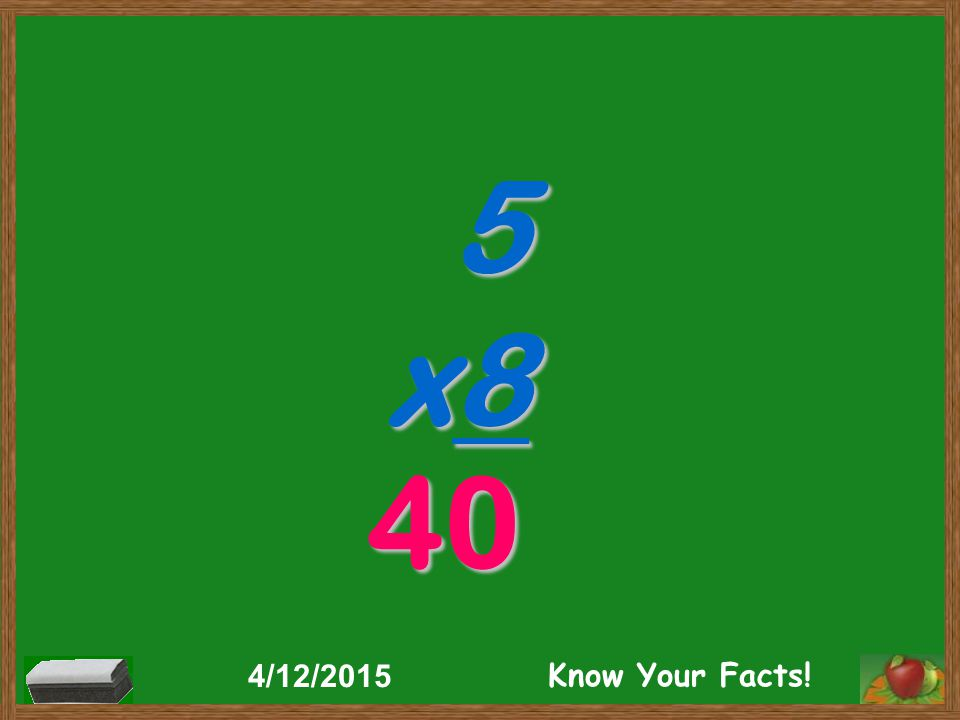 5 x8 40 4/12/2015 Know Your Facts!