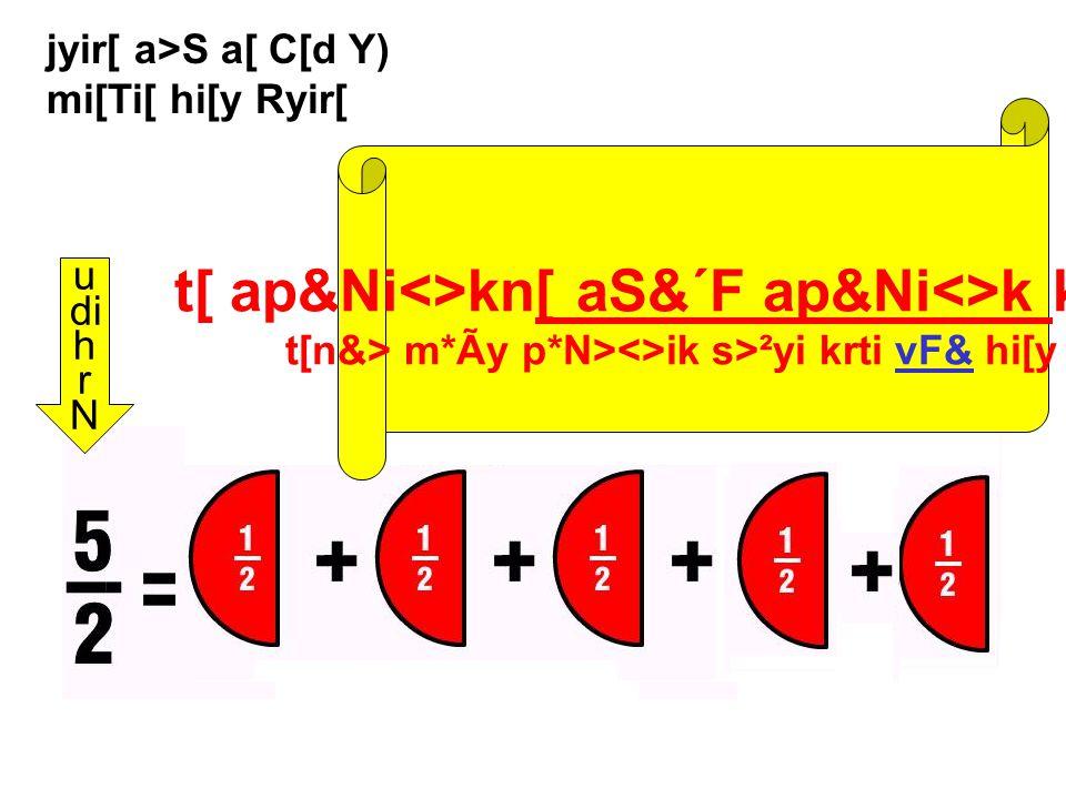 jyir[ a>S a[ C[d Y) nini[ hi[y Ryir[ u di h r N ai ap&Ni<>k n[ S&´F ap&Ni<>k kh[viy t[ h>m[Si p&Ni><k Y) ai[Ci[ hi[y C[.