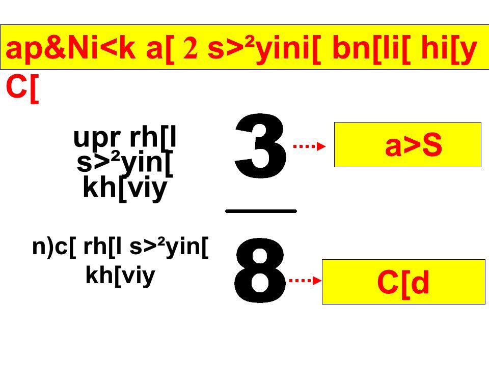 j[ ap&Ni<>k s>²yiai[ni[ C[d a[ksrKi[ hi[y t[mni[ srviLi[ krvin&> srL Ye jiy C[.
