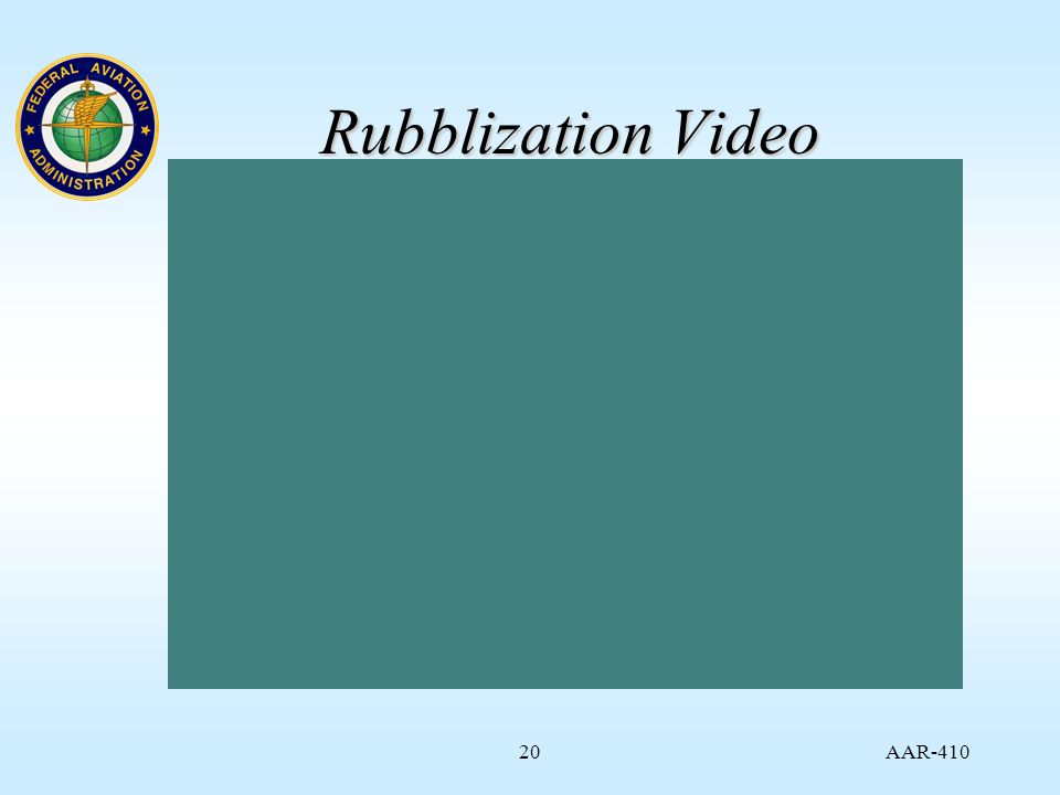 AAR Rubblization Video