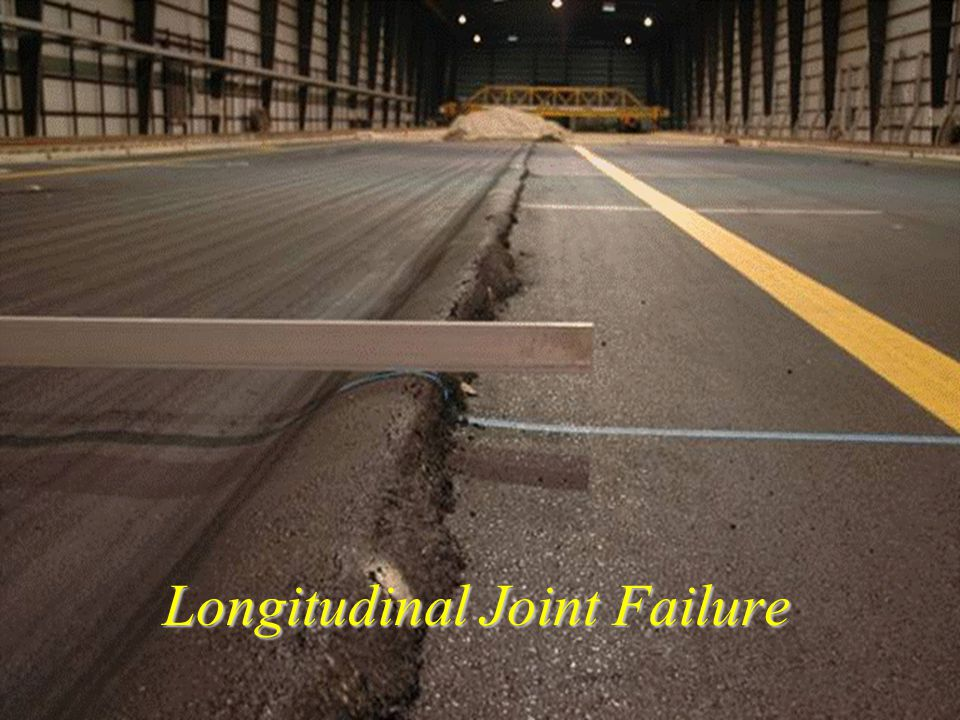 AAR Longitudinal Joint Failure