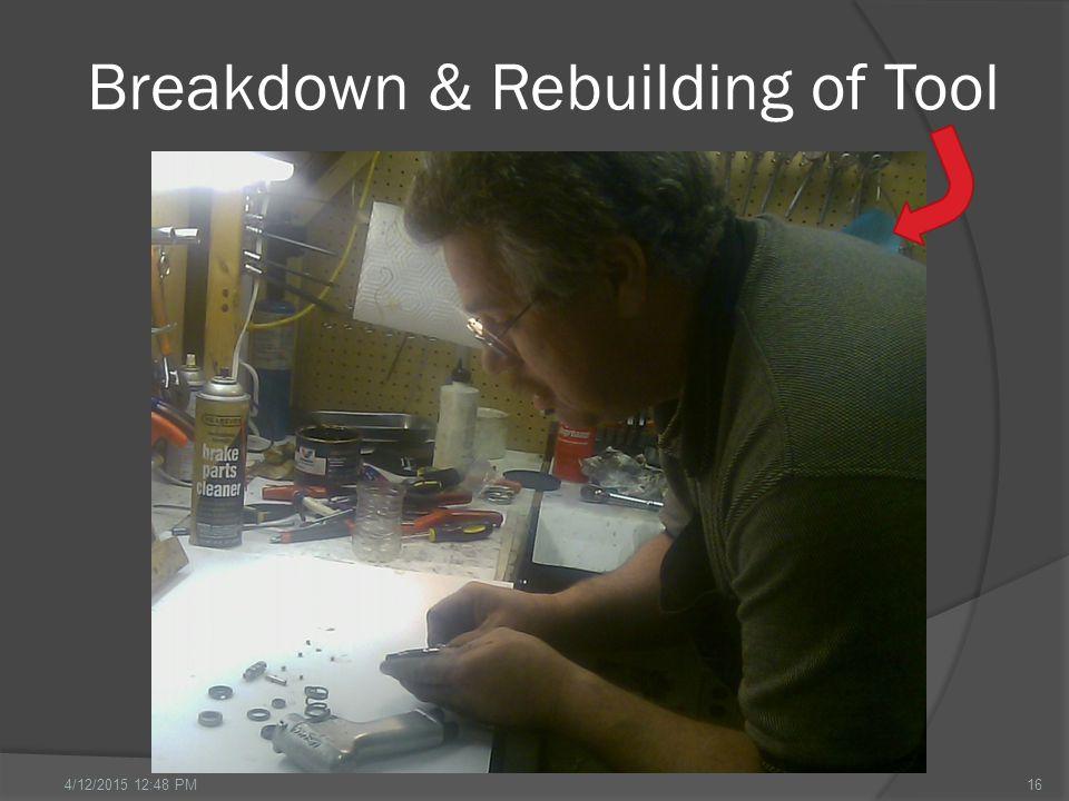 Breakdown & Rebuilding of Tool 164/12/2015 12:49 PM