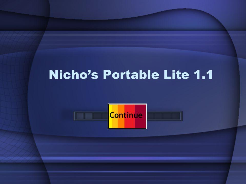Nicho's Portable Lite 1.1