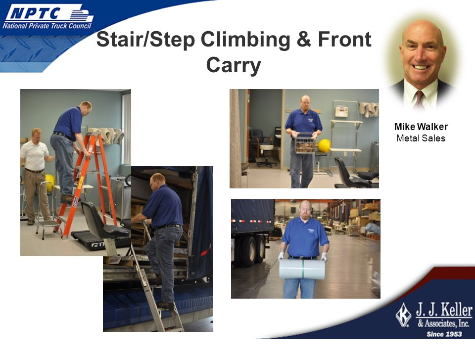 Stair/Step Climbing & Front Carry Mike Walker Metal Sales