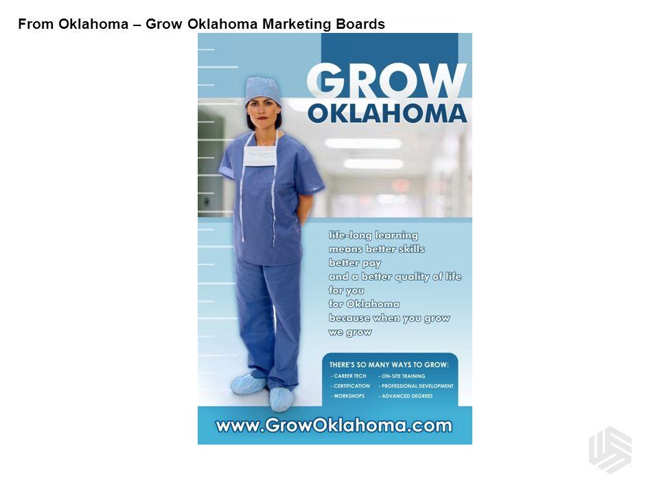 From Oklahoma – Grow Oklahoma Marketing Boards