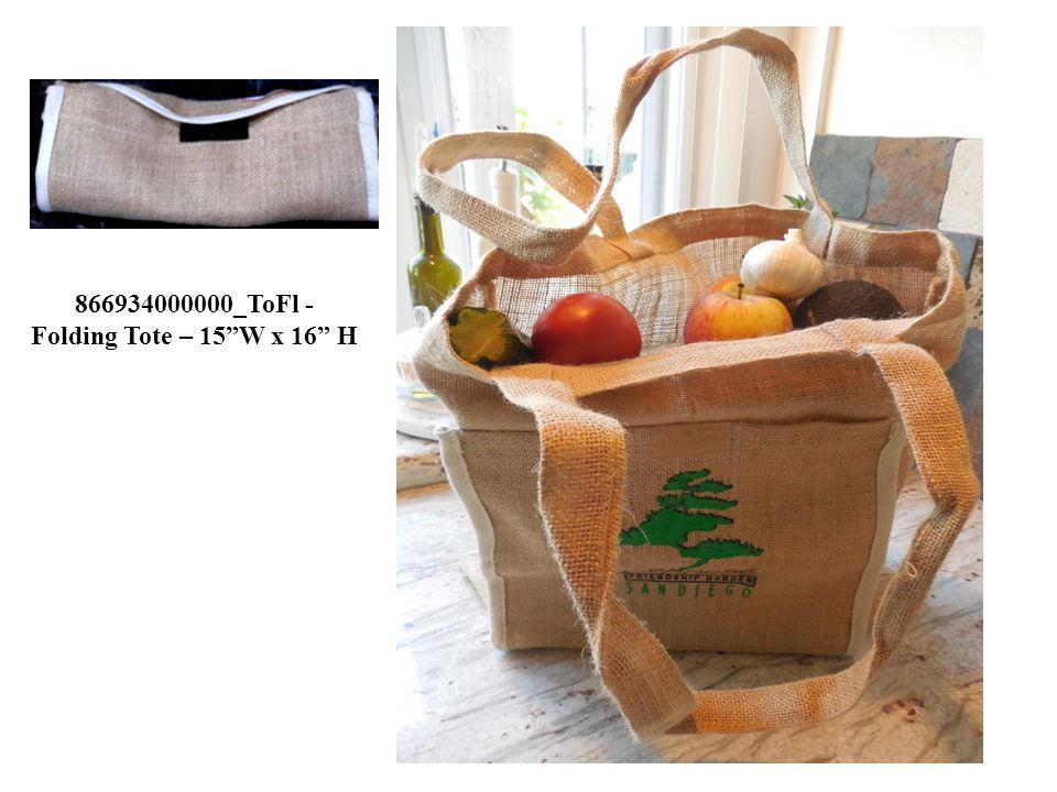 "866934000000_ToFl - Folding Tote – 15""W x 16"" H"