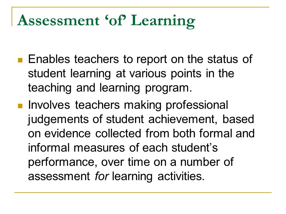 Helping New Scheme Teachers It is important for all teachers and particularly for new scheme teachers to: share interpretations of syllabus expectations and understandings with colleagues or teacher networks use student work samples collaboratively to make judgements have a shared understanding of student achievement at a particular point