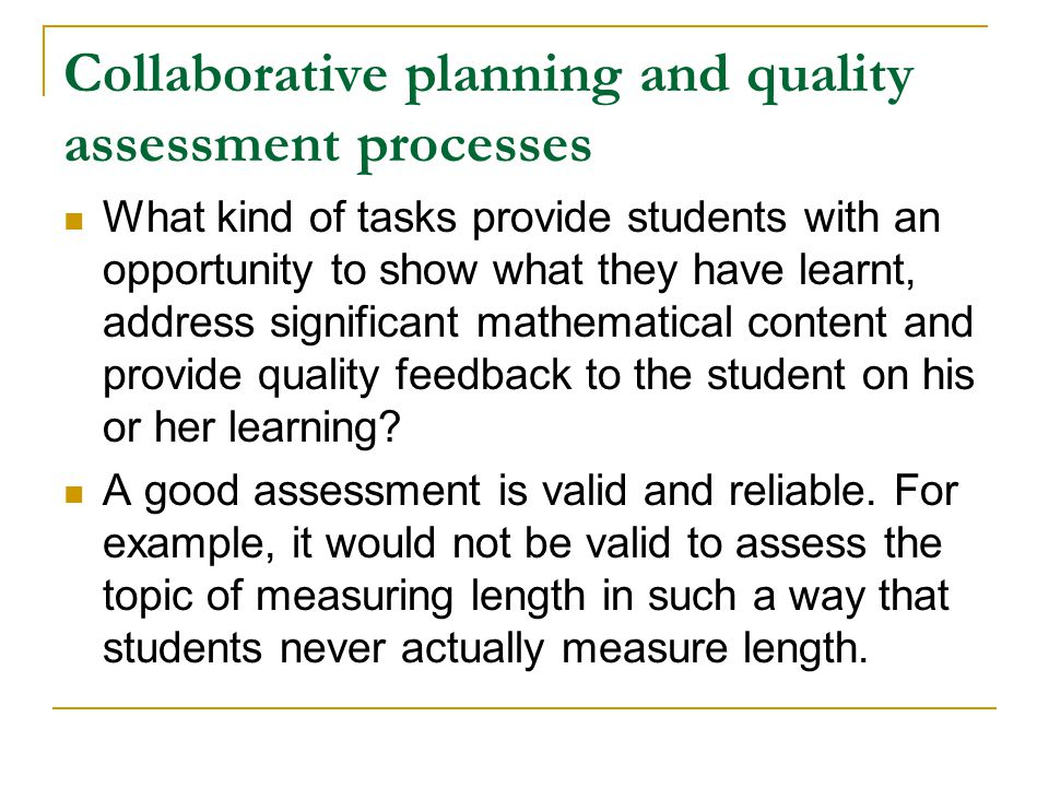 Choosing the right grade (2) An on-balance judgement does not just focus on a single piece of work.