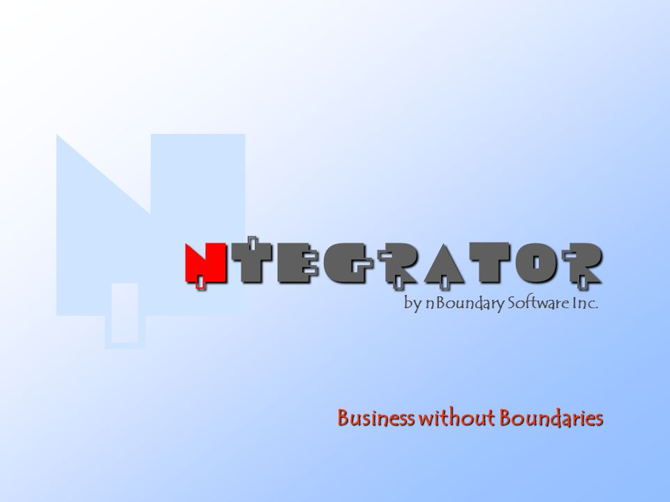 Business without Boundaries by nBoundary Software Inc. 