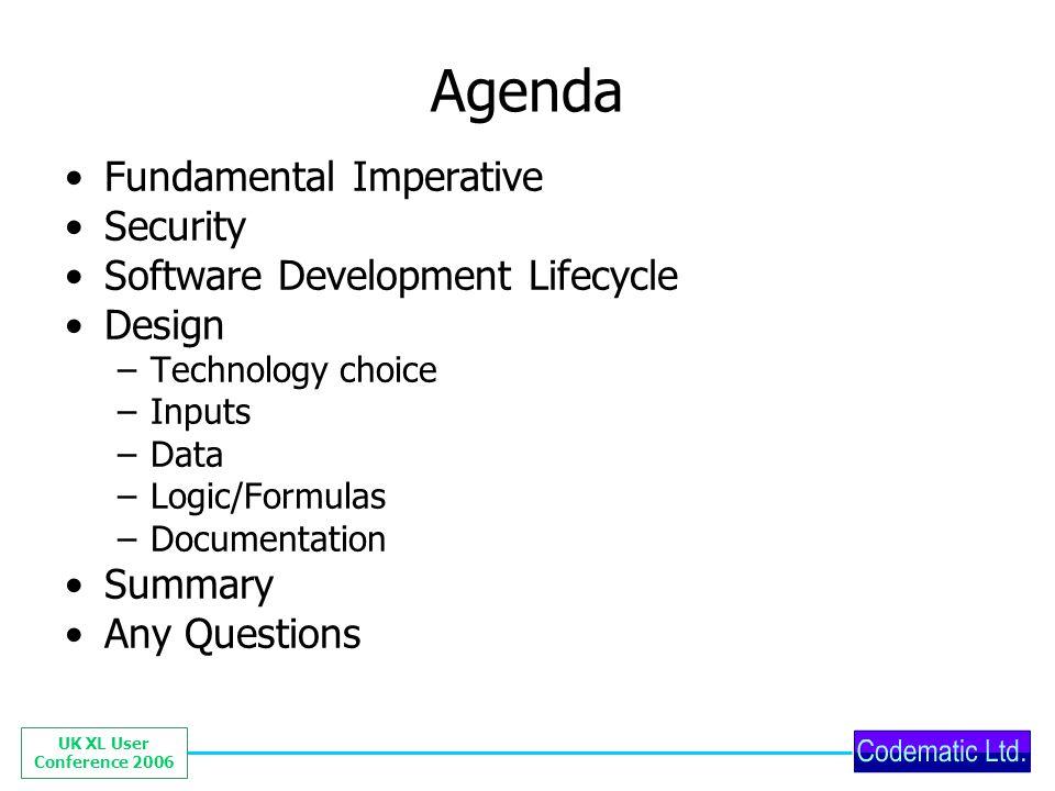 UK XL User Conference 2006 Worksheet modularisation 3 (bad)