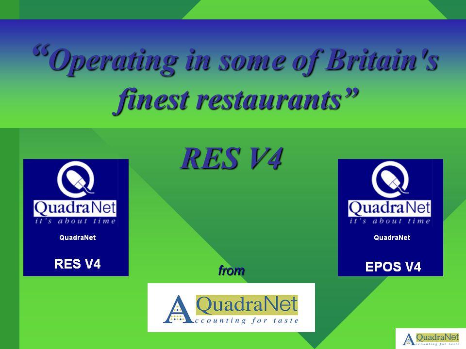 Operating in some of Britain s finest restaurants finest restaurants