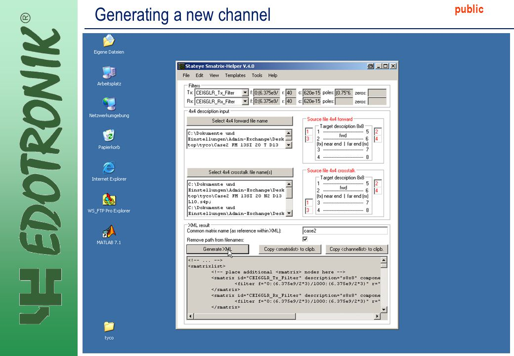 MP IP Strategy 2005-06-22 public Generating a new channel