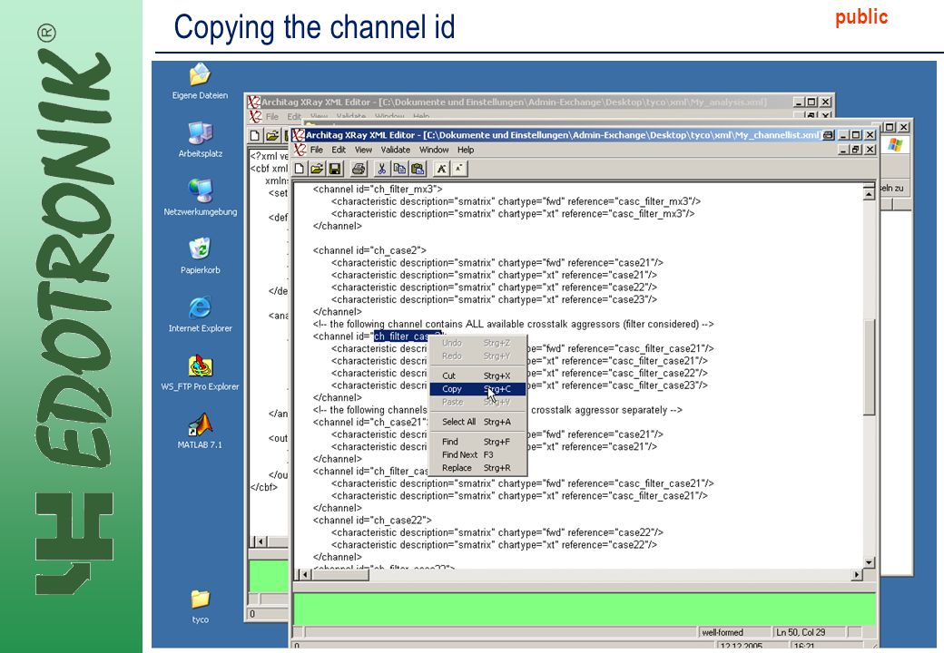 MP IP Strategy 2005-06-22 public Copying the channel id