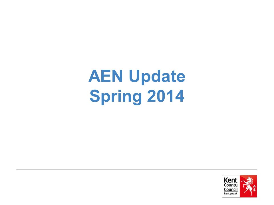 AEN Update Spring 2014