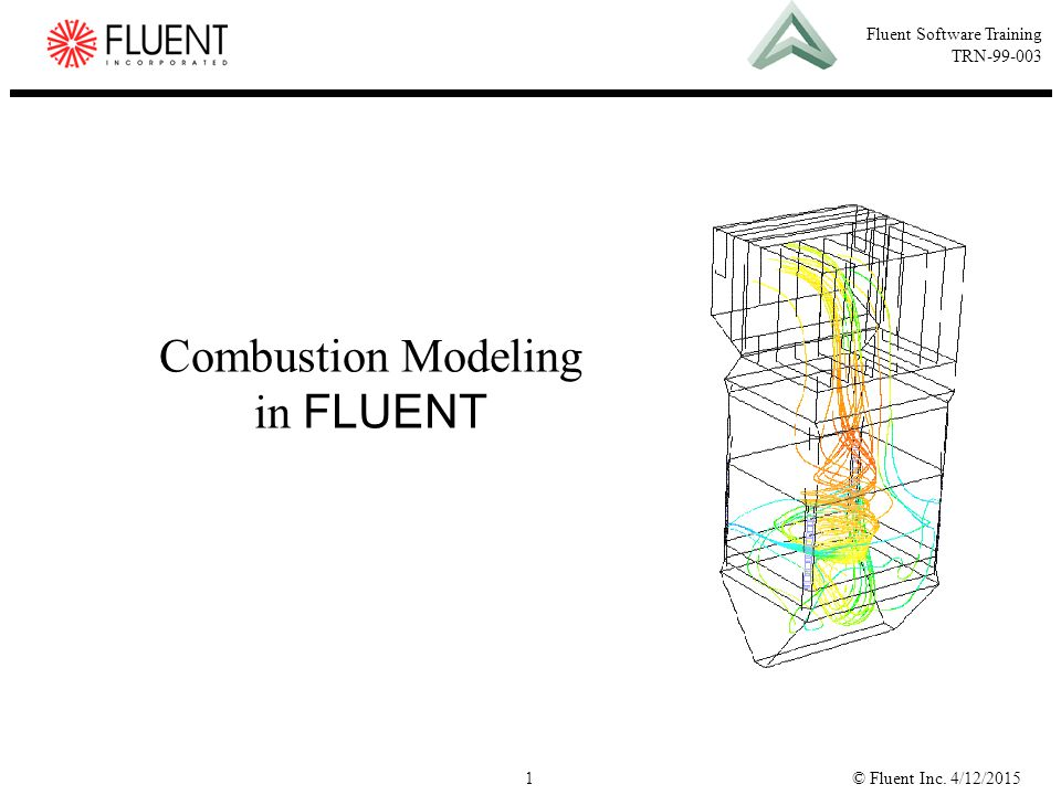 © Fluent Inc. 4/12/20151 Fluent Software Training TRN-99-003 Combustion Modeling in FLUENT