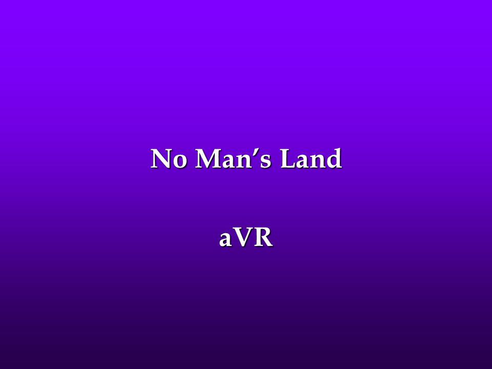 No Man's Land aVR