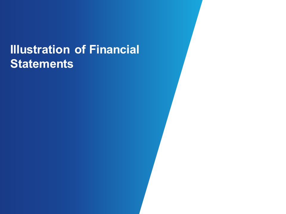 Illustration of Financial Statements