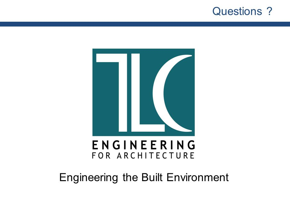 Engineering the Built Environment Questions
