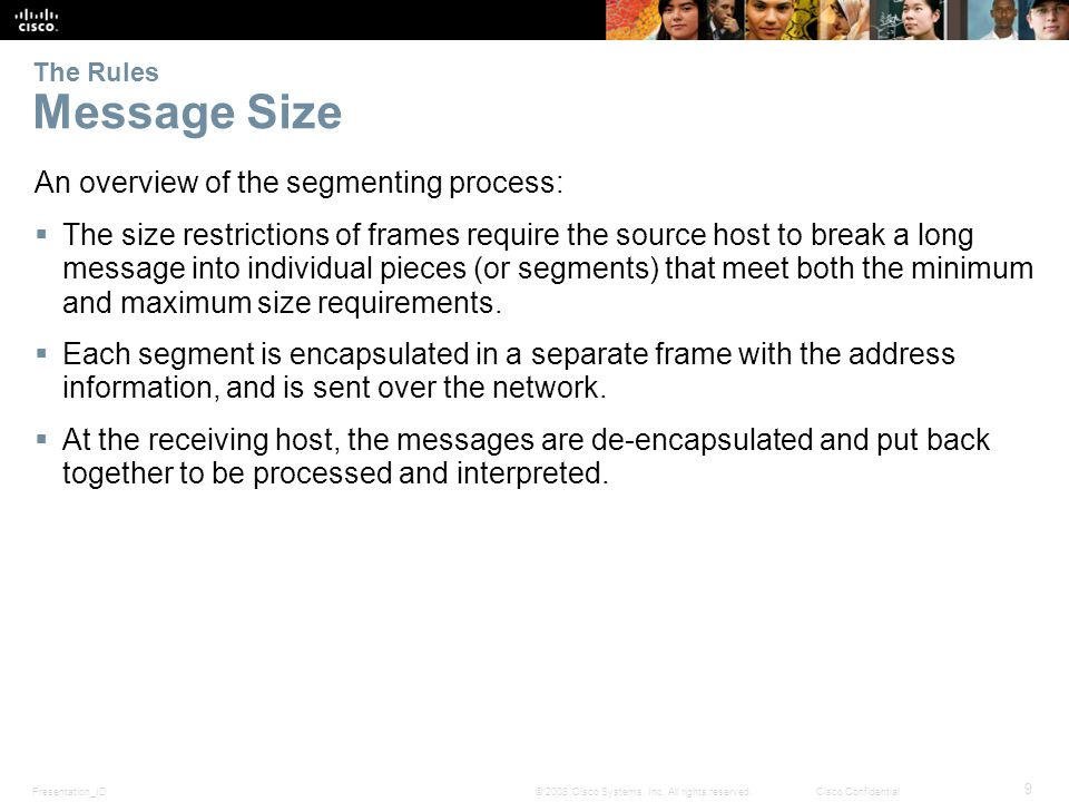 Presentation_ID 9 © 2008 Cisco Systems, Inc.