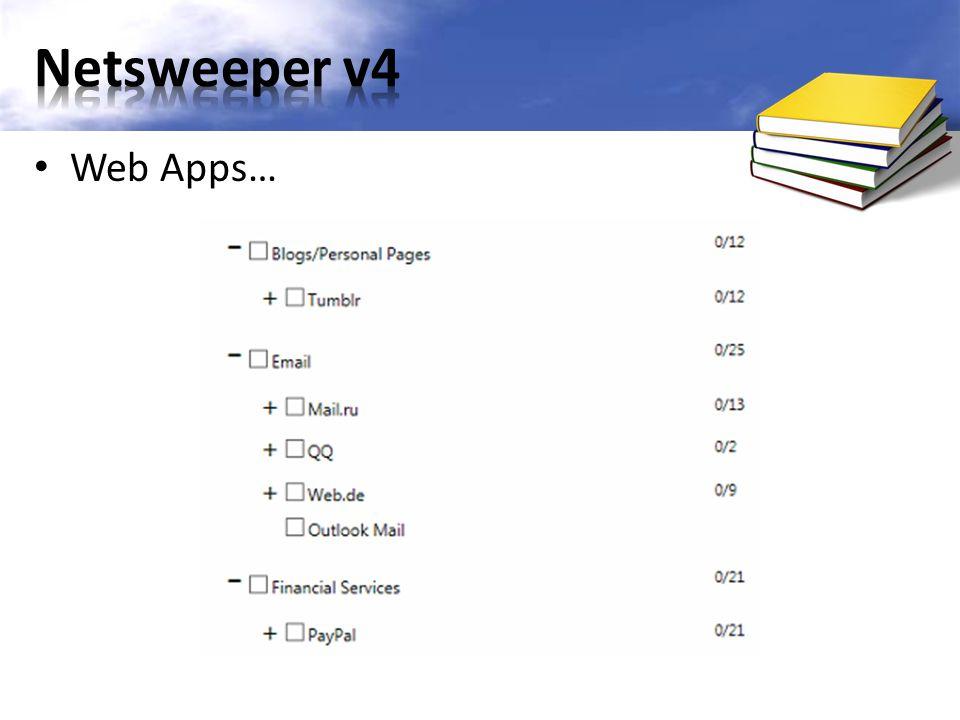 Web Apps…