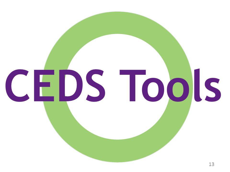13 CEDS Tools