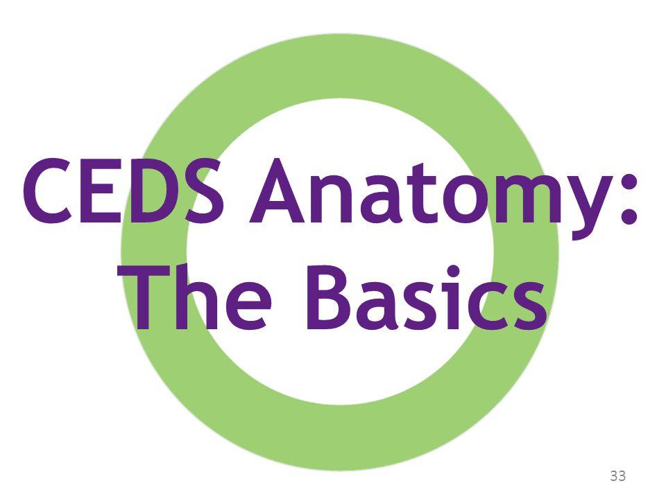 33 CEDS Anatomy: The Basics