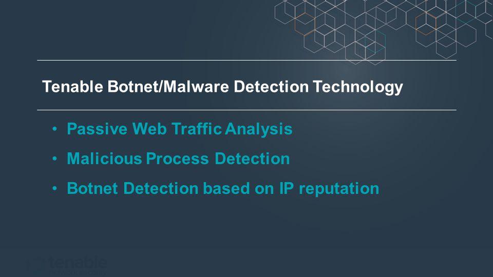 Passive Web Traffic Analysis Malicious Process Detection Botnet Detection based on IP reputation