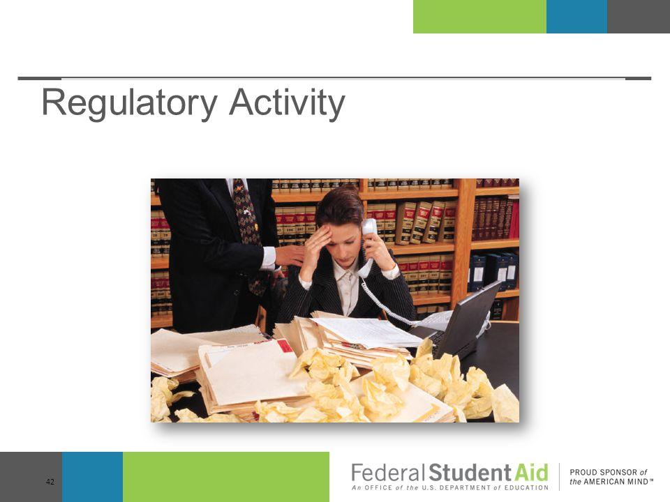 Regulatory Activity 42