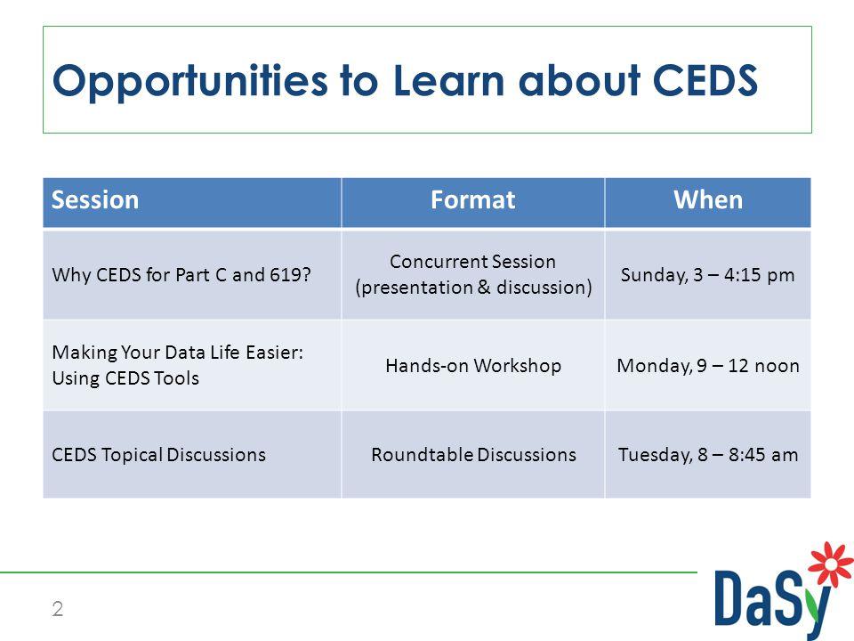 CEDS Tools 13