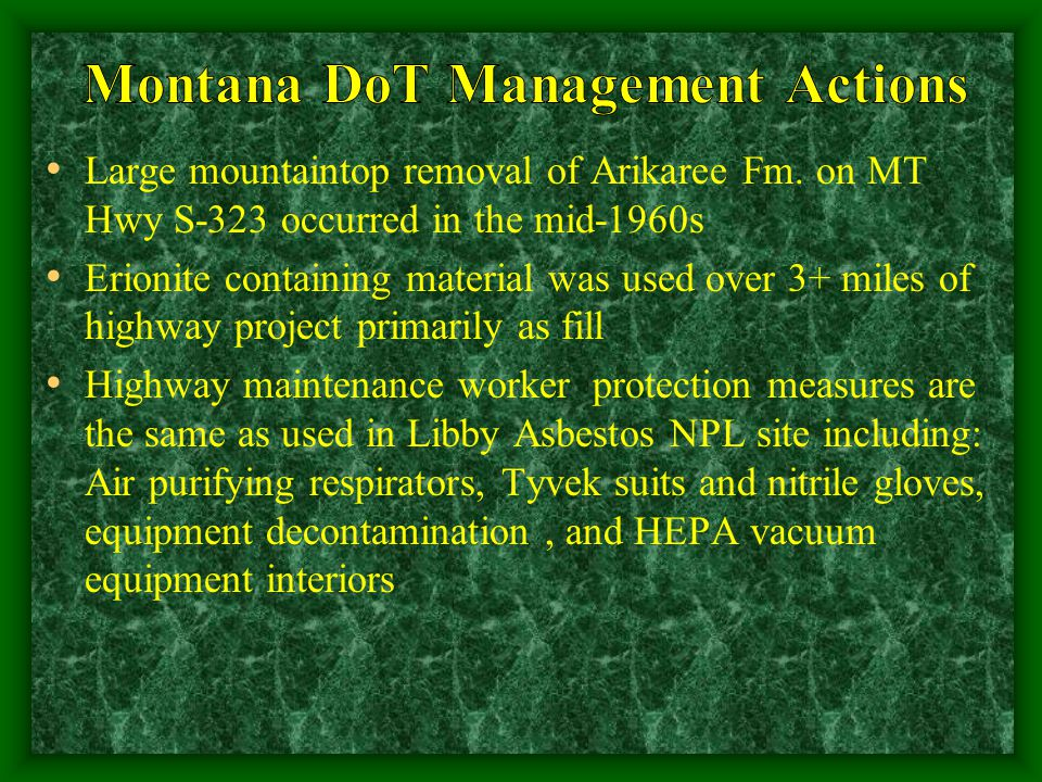 Large mountaintop removal of Arikaree Fm.