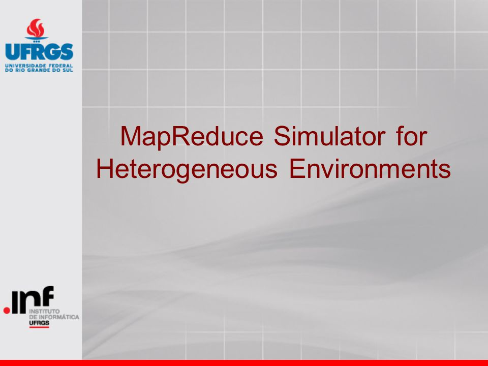 MapReduce Simulator for Heterogeneous Environments