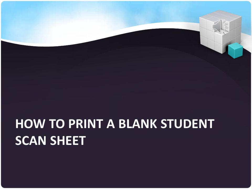 Your N Right Click with your mouse and Select Print to send all the sheets to the printer How to Print Pre-Gridded Student Scan Sheets