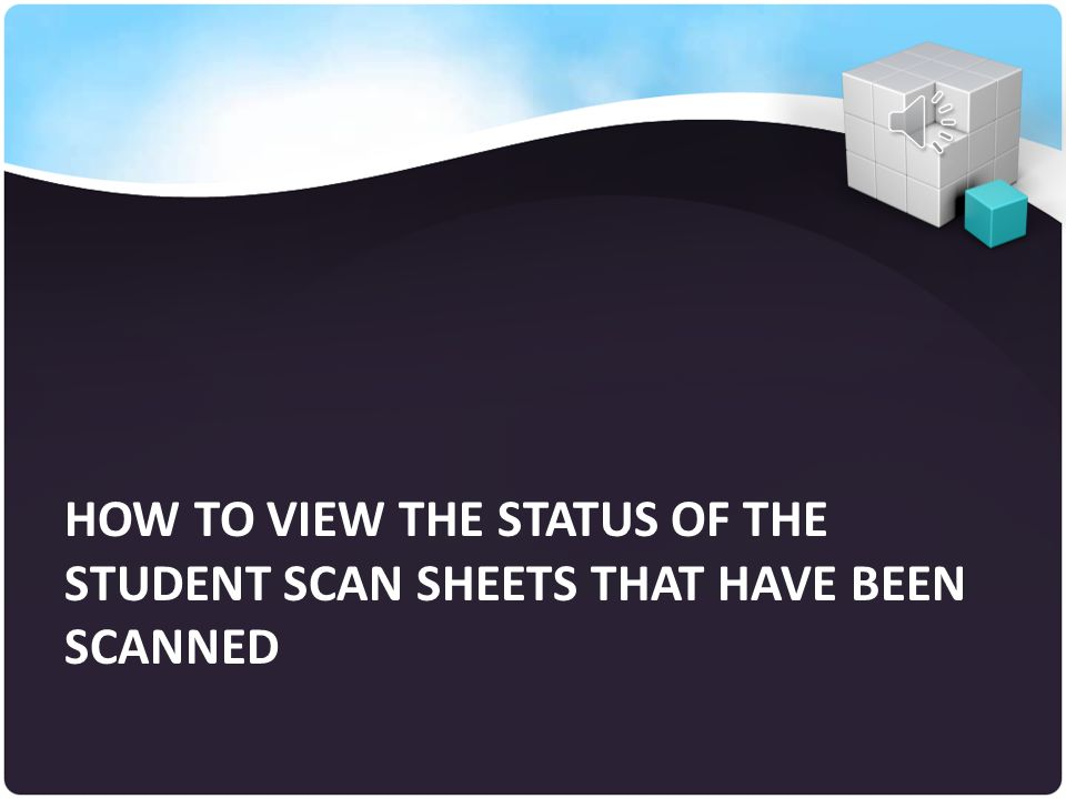 Click on the START button to send file How to Scan Pre-Grid Student Scan Sheets