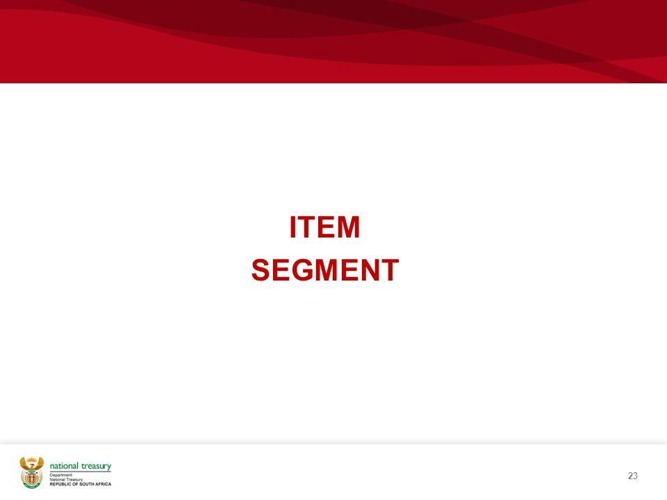 ITEM SEGMENT 23