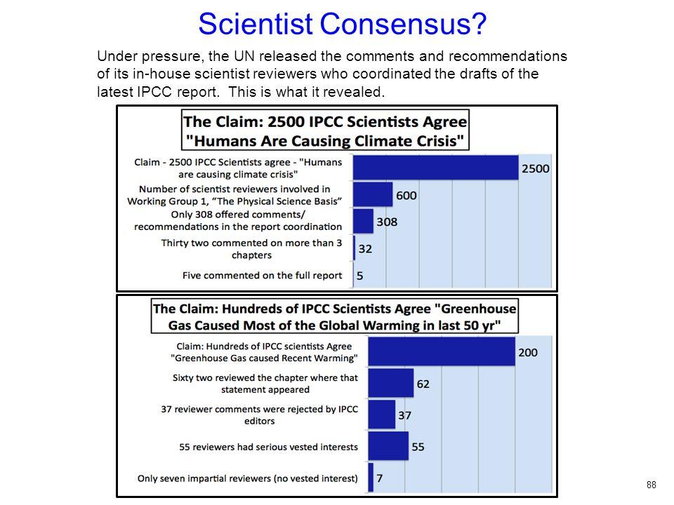 Scientist Consensus.