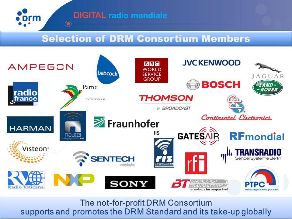 Selection of DRM Consortium Members