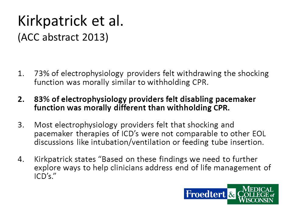 Kirkpatrick et al.