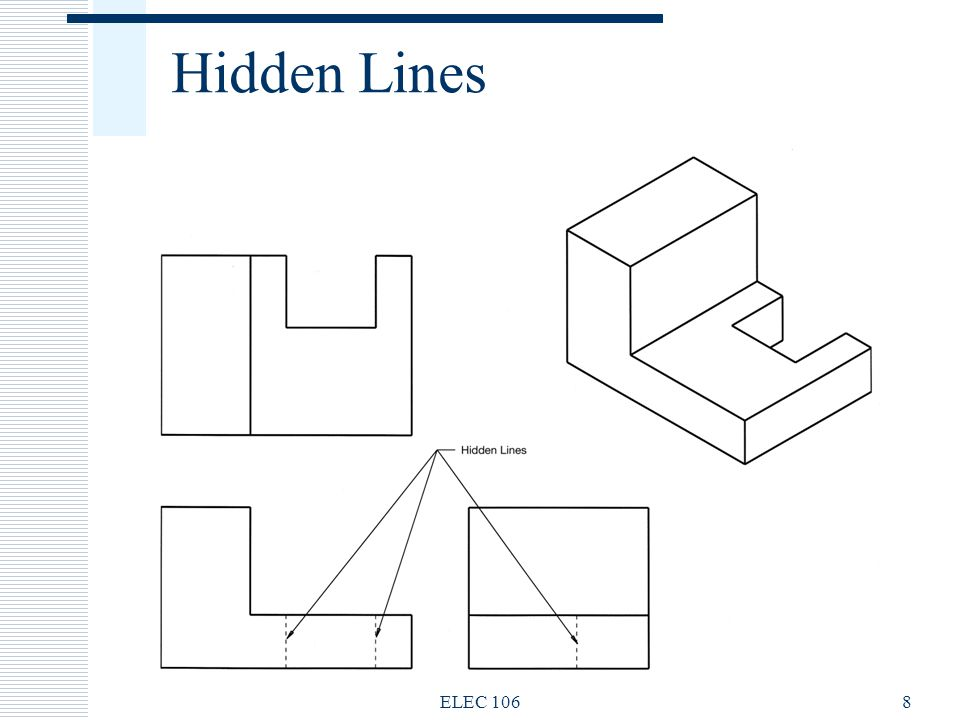 Hidden Lines ELEC 1068