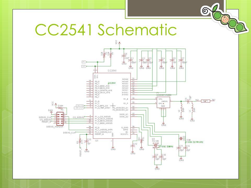 CC2541 Schematic